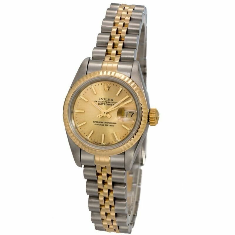 Rolex Datejust Ladies Automatic 26mm Two Tone Watch - Excellent Condition