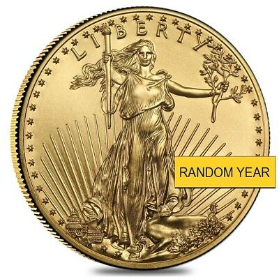 Купить 1 oz American Eagle $50 Gold Coin (Random Year)
