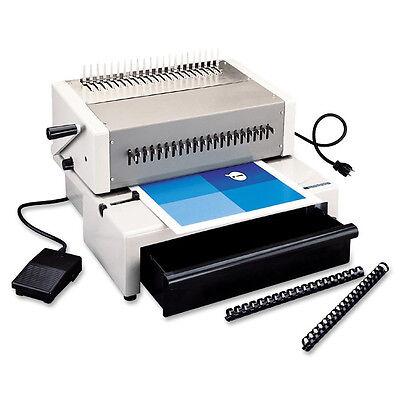 Gbc C800 Pro Ibico Epk21 Plastic Comb Binding Machine