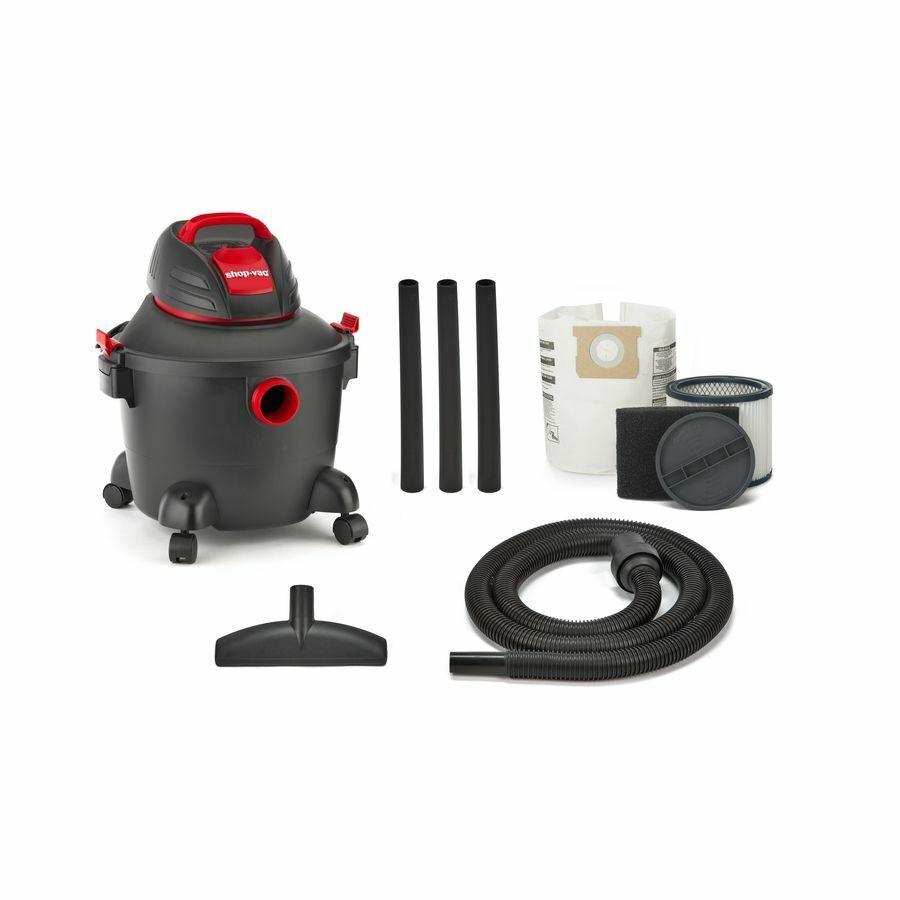 Shop-Vac 6-Gallon 3.5-HP Shop Vacuum Wet Dry Home Garage Cle