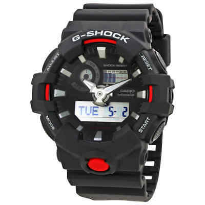Casio G-Shock Black Dial Men's Multifunction Digital Watch GA700-1A
