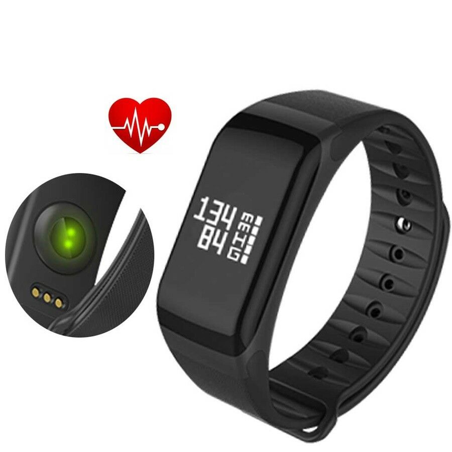 F1 Fitness Blood Pressure Oxygen Heart Rate Monitor Smart Watch Band Wristband Plus Original Bracelet Color Screen