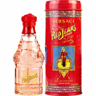 VERSACE RED JEANS EDT 75ml FOR HER BRAND NEW RETAIL BOX PERFECT GIFT RRP £32