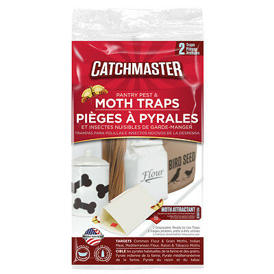 12 packs of 2 traps Catchmaster Indian Meal Moth Pest Control Trap ` 24 traps