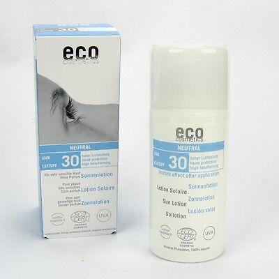 (15,19/100ml) Eco Cosmetics Neutral Sonnenlotion LSF 30 ohne Parfum 100 ml