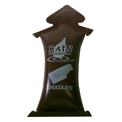 Rain Chocolate Personal Lubricants Singles - Choose Pack Size