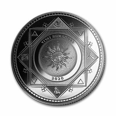 2020 Tokelau 1 oz Silver $5 Vivat Humanitas - SKU#207821