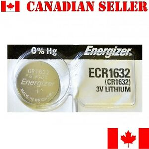 1-NEW-Energizer-Battery-CR1632-1632-3v-lithium-batteries-ECR1632-DL1632