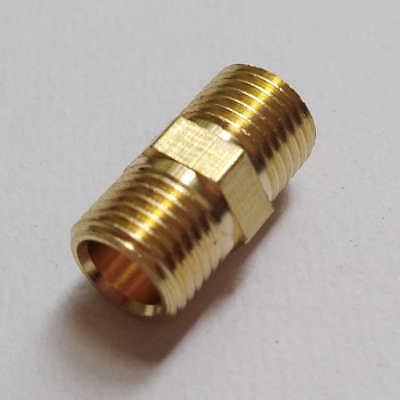 Fitting Metric M10 M10x1 M10x1.0 Male Nipple Gauge Adapter Brass Us Stock M687