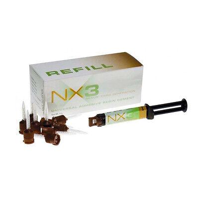 Kerr Nx3 Nexus 3rd Gen Universal Adhesive Resin Cement Dual Cure Syringe Clear