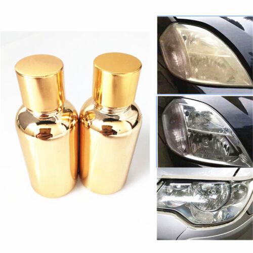 60ML Car Headlight Headlamp Cleaning Restoration Restorer Polish atomized liquid