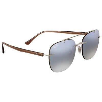 - Ray-Ban RB4280 6290B8 Sunglasses Brown Frame and Silver Gradient Mirror Lenses