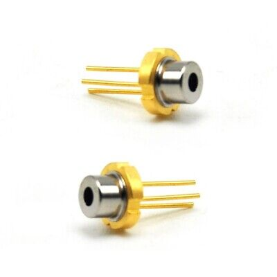 2pcs Violetblue 405nm 100mw Laser Diode 5.6mm To-18 Pd Sony Sld3235vf