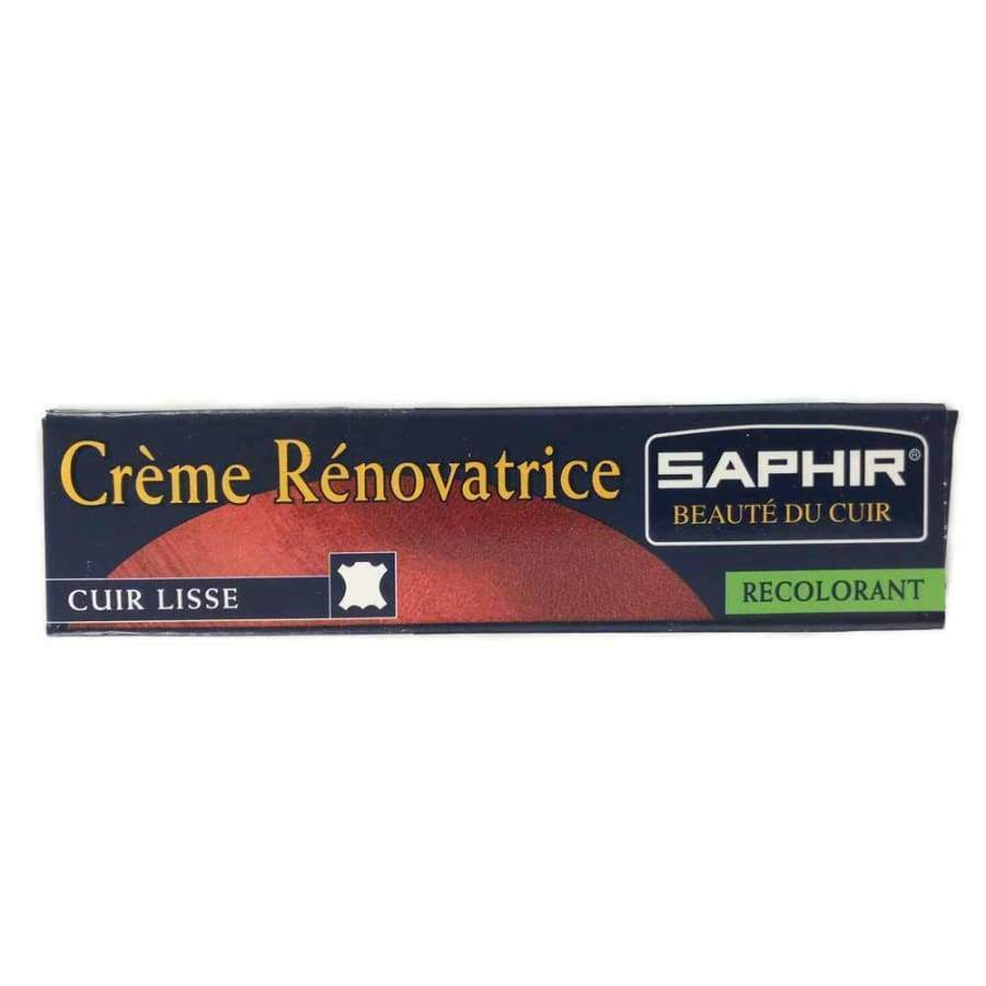 Saphir Renovating cream tube .25 ml For Leather Clothing & Shoe Care