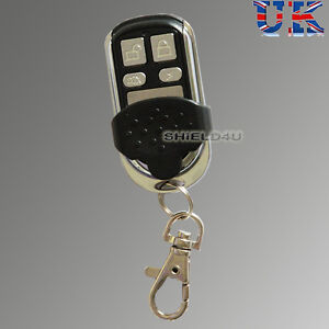 2-x-NEW-DESIGNED-ALARM-METALLIC-WIRELESS-REMOTE-CONTROL-CONTROLLER-KEYFOB