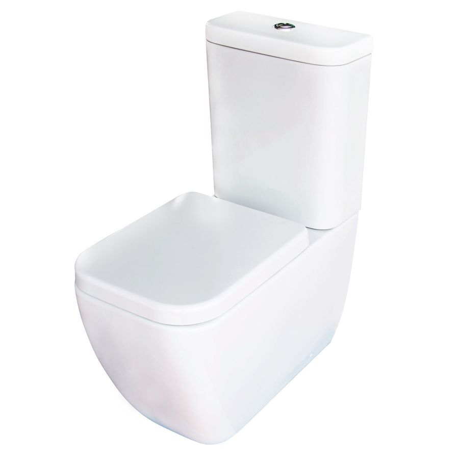 Cooke & Lewis Affini Contemporary Close-Coupled Toilet - Brand New ...