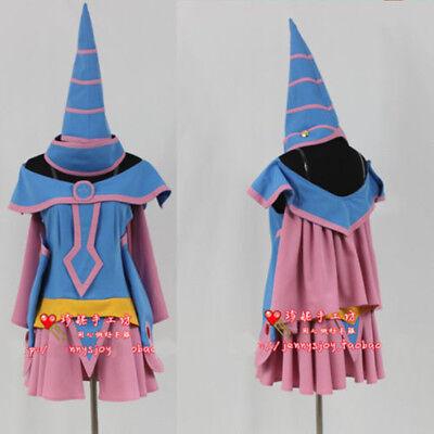 Yu-Gi-Oh! Dark Magician Girl Uniform Suit Cosplay Costume Custom Made