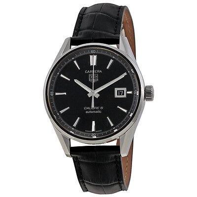 Tag Heuer Carrera Calibre 5 Stainless Steel Mens Watch WAR211A.FC6180