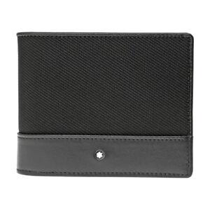 Montblanc Nightflight Black Nylon Wallet 113149