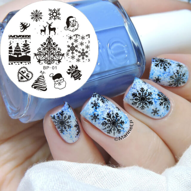 Born pretty 01 nail stamping image plate nail art stamp template born pretty 01 nail stamping image plate nail art stamp template christmas theme prinsesfo Image collections