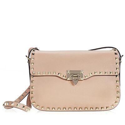 Valentino Rockstud Shoulder Bag - Sorbet