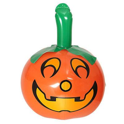 AUFBLASBARER KÜRBIS # Pumpkin Halloween Grusel Party Dekoration Fest Deko 04812