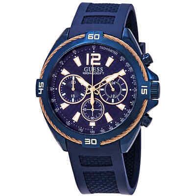 Guess Mens Blue Dial Watch (Guess Surge Chronograph Blue Dial Men's Watch W1168G4 )