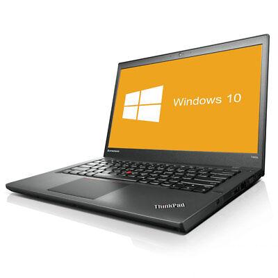 Lenovo ThinkPad T440s Notebook Intel Core i7-4600U 2x 2,1GHz 12GB RAM 256GB SSD Notebook-intel Core