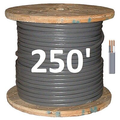 102 Uf 250 Underground Feeder Direct Burial Copper Conductors 3 Wirecable
