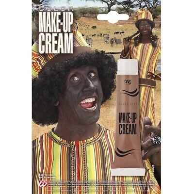 BRAUNES MAKE UP Karneval Fasching Schminke Farbe Afrikaner Bär Kostüm Party 4016