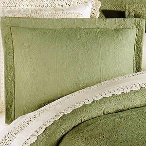 Sage Green Pillow Shams Ebay