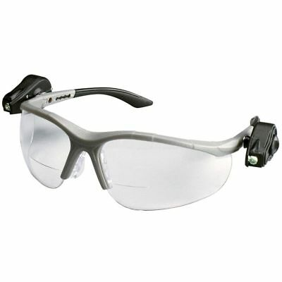 3m Light Vision2 Led Bifocal Safety Glasses With Clear Anti-fog Lens