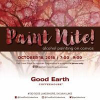 Alcohol Ink Art Class - Paint Night