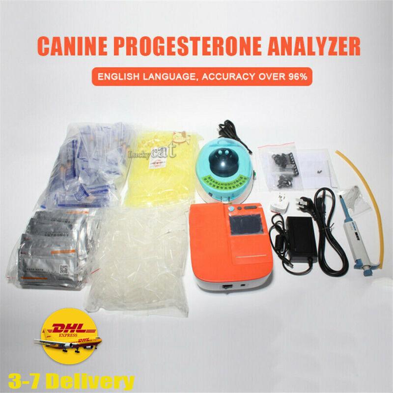 Dog Progesterone Analyzer Portable Tester Canine Progesterone Testing Machine