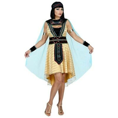 ÄGYPTISCHE KÖNIGIN PREMIUM KOSTÜM Karneval Ägypterin Cleopatra Damen Kleid 0804