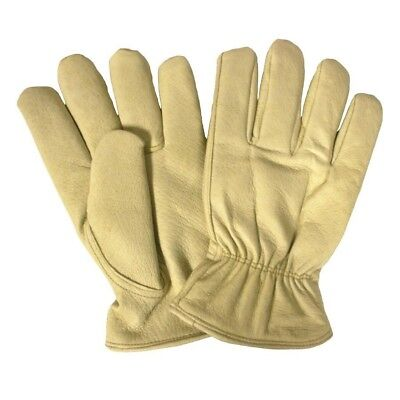 1 Pair Cordova Lined Cream Leather Insulated Winter Gloves Winter Series Xl 6063