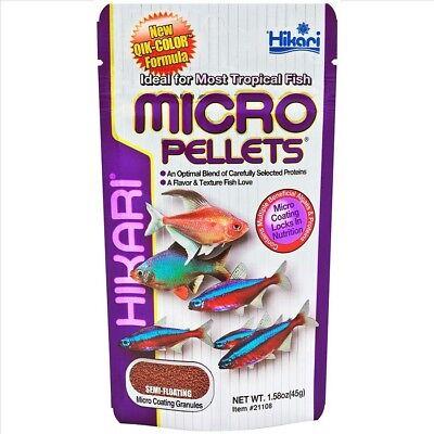 Hikari Tropical Micro Pellets Granules   (Free Shipping)