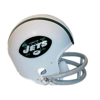New York Jets 1965-1977 65-77 Throwback Riddell 2-bar Mini Helmet New in box
