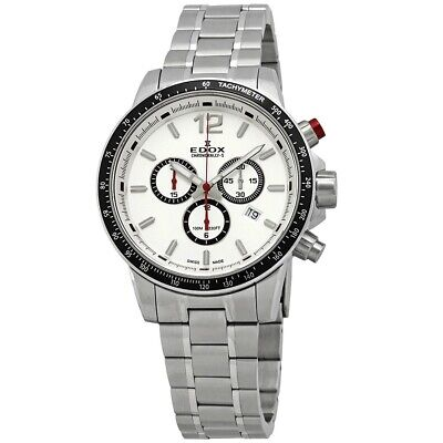 NEW Edox Chronorally-S Men's Chronograph Watch - 10229 3M AIN