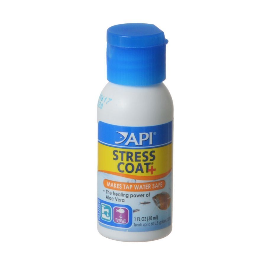 API Stress Coat + Fish & Tap Water Conditioner in 8 sizes fr