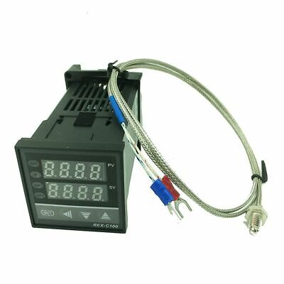 Digital Pid Temperature Controller Standing Thermostat With K-type Probe Sensors