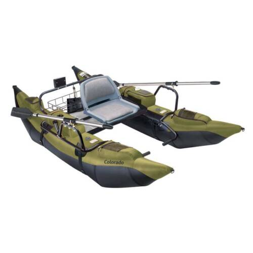 New Classic Accessories Colorado Pontoon Boat - Sage/Black