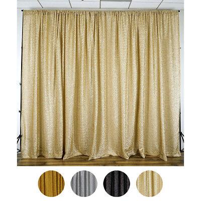 20 ft x 10 ft Metallic Spandex BACKDROP Curtain Photobooth Wedding Party SALE](Photobooth Wedding)