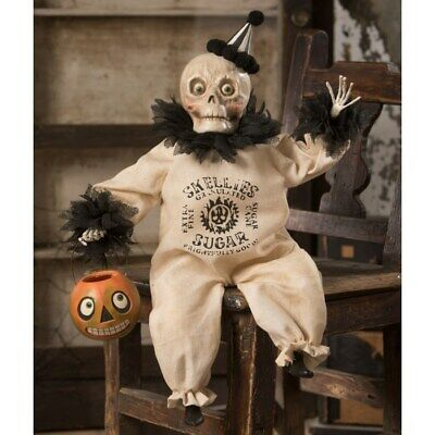"""Bethany Lowe Halloween """"Party Skelly Clown"""" TD8572"""