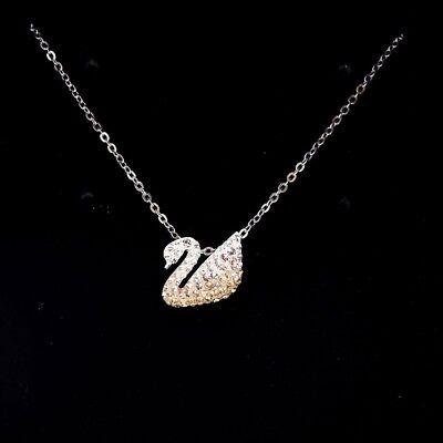 Swarovski Iconic Swan Small Pendant 5215038 Multi- Colored Necklace