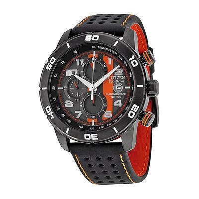 "BRAND NEW! Citizen Men's CA0467-11H Eco-Drive ""Primo"" Chronograph Sport Watch"