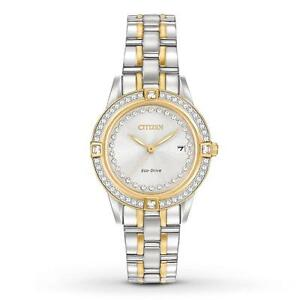 Citizen Women's Silhouette Crystal FE1154-57A Wrist Watches