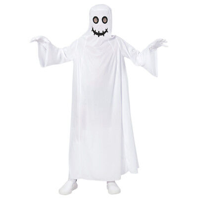 GEISTER KOSTÜM & MASKE KINDER Halloween Karneval Gespenster Party Jungen  # -