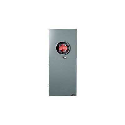 Squared Homeline Csed 200-amp 8-space 16-circuit Outdoor Main-breaker Load-panel