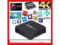 ANDROID TV BOX 6.0 / KODI 17 / MOBDRO